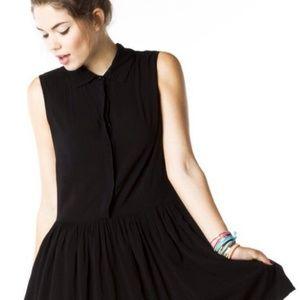 Brandy Melville Black Robin Dress